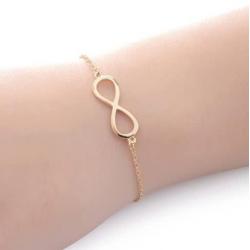 Armband Goudkleurig Infinity