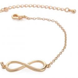 Goudkleurige Infinity Armband